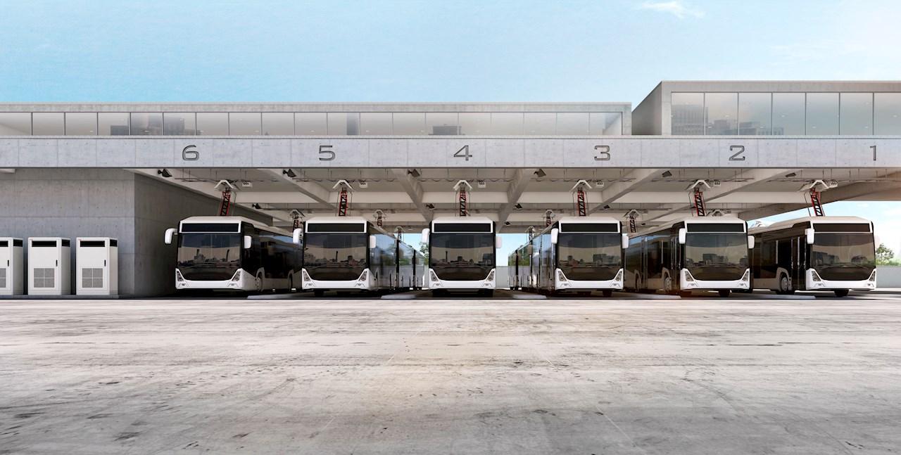 Az ABB automata pantográffal bővítette az e-busztöltési portfólióját.