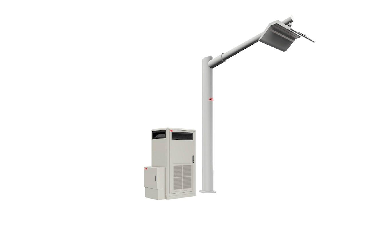 Зарядная станция с контактной системой Panto UP