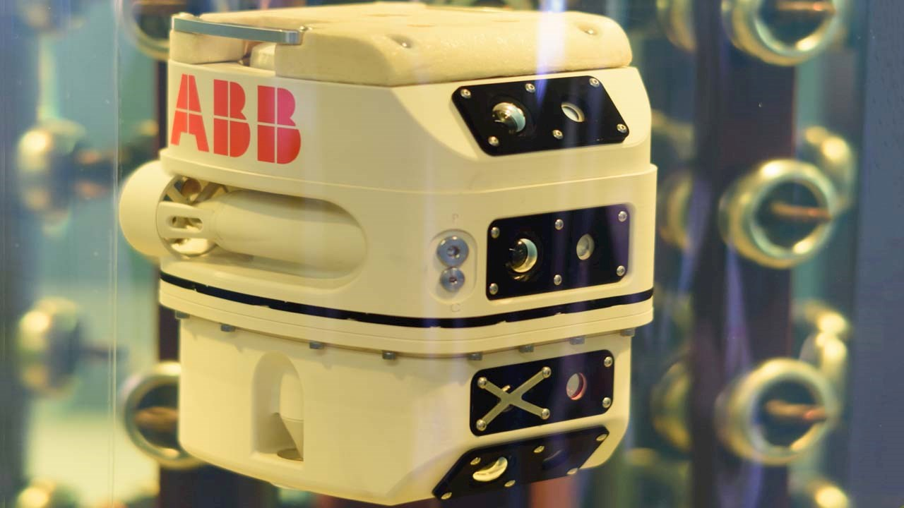 ABB wins major industry award for submersible transformer inspection robot