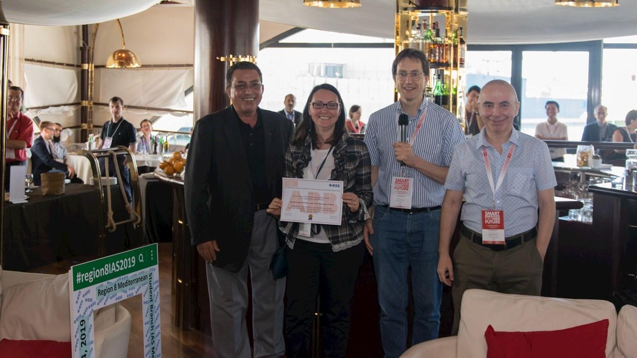 EEEIC - International Conference on Environment and Electrical Engineering: premiati da ABB  i migliori articoli accademici dei giovani ricercatori.