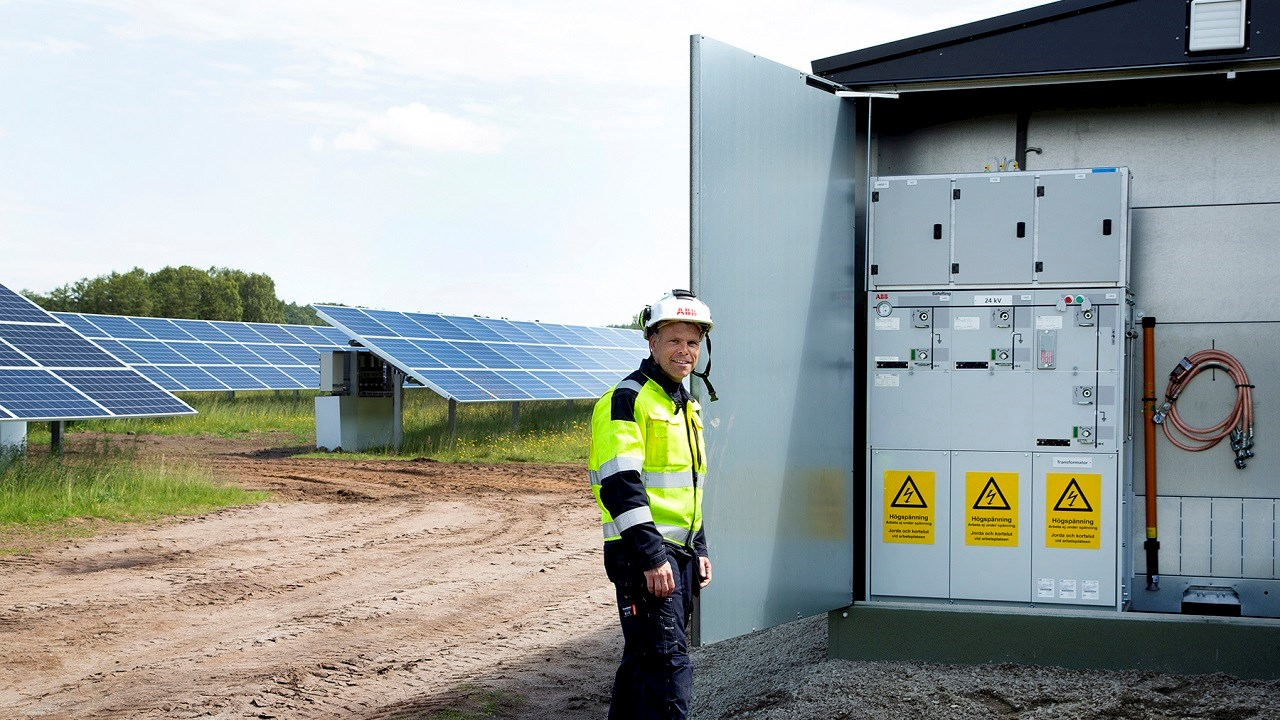 ABB technology contributes to Sweden's sustainable future