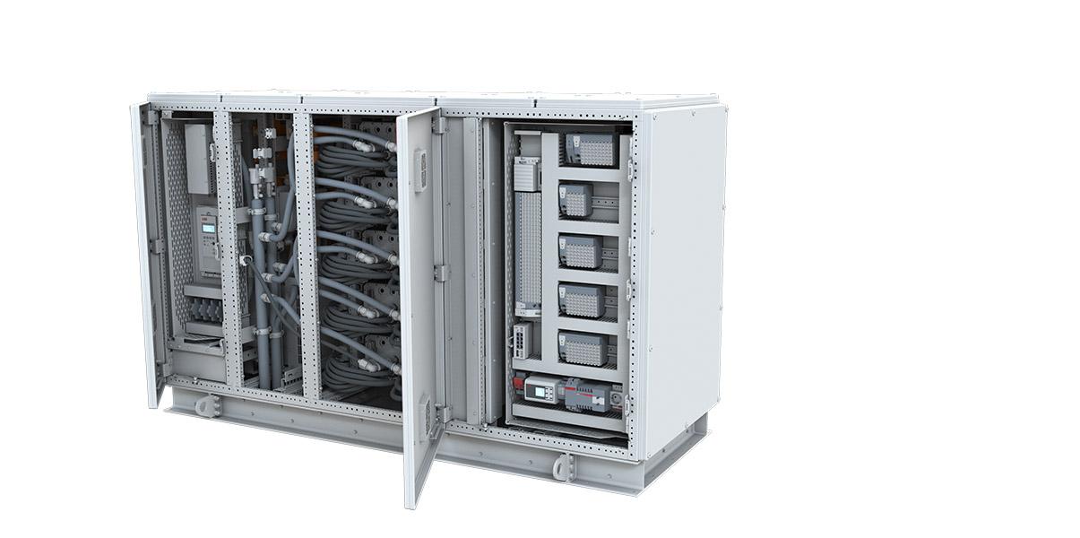 Hybridsystemet Onboard Microgrid byr på større fleksibilitet for installasjon om bord