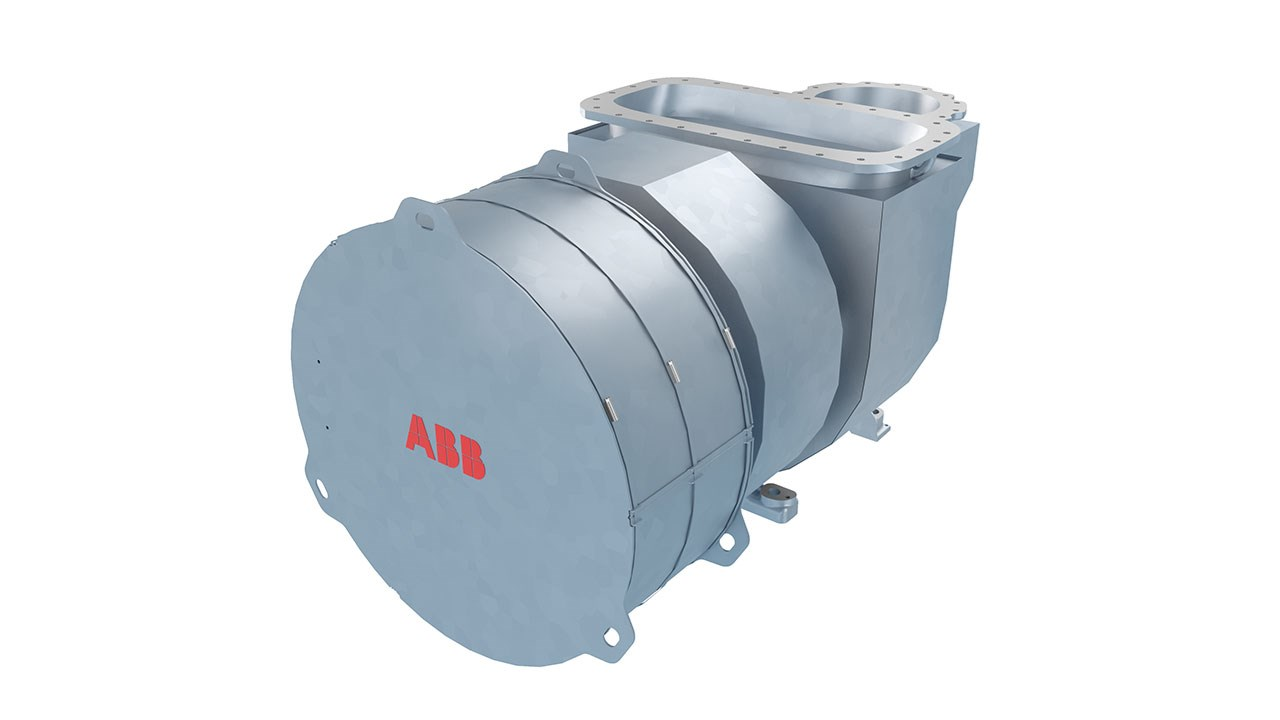 ABB introduces new compact turbocharger for low-speed marine engine market