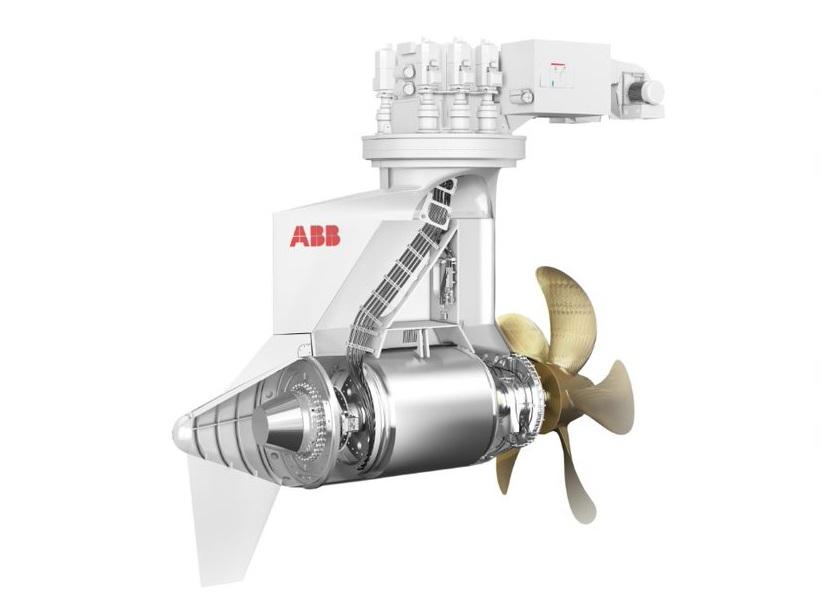 Новый движитель ABB средней мощности Azipod® М