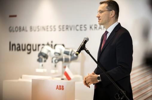 Minister rozwoju i finansów Mateusz Morawiecki