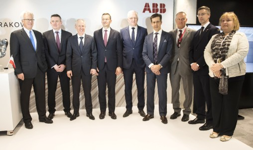 Inauguration of the Global Business Services (GBS) center in Krakow