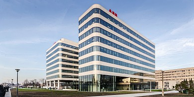 The Global Business Services (GBS) center in Krakow is located in a new office building AXIS