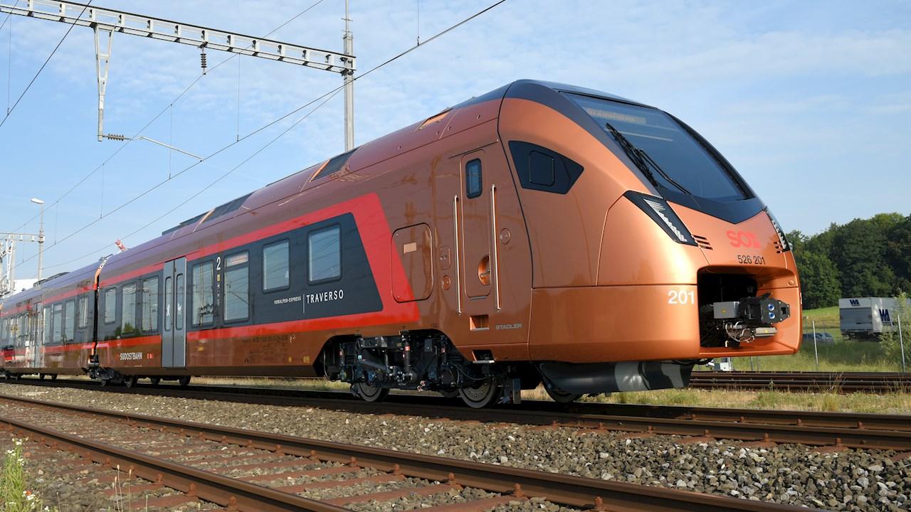 ABB erhält Bahntechnik-Aufträge von Stadler im Wert von mehr als 140 Millionen US-Dollar