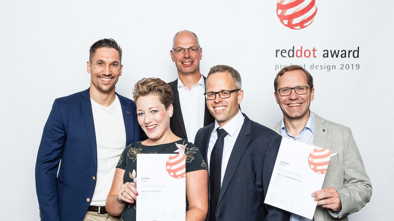ABB recognized with two Red Dot Awards for outstanding design