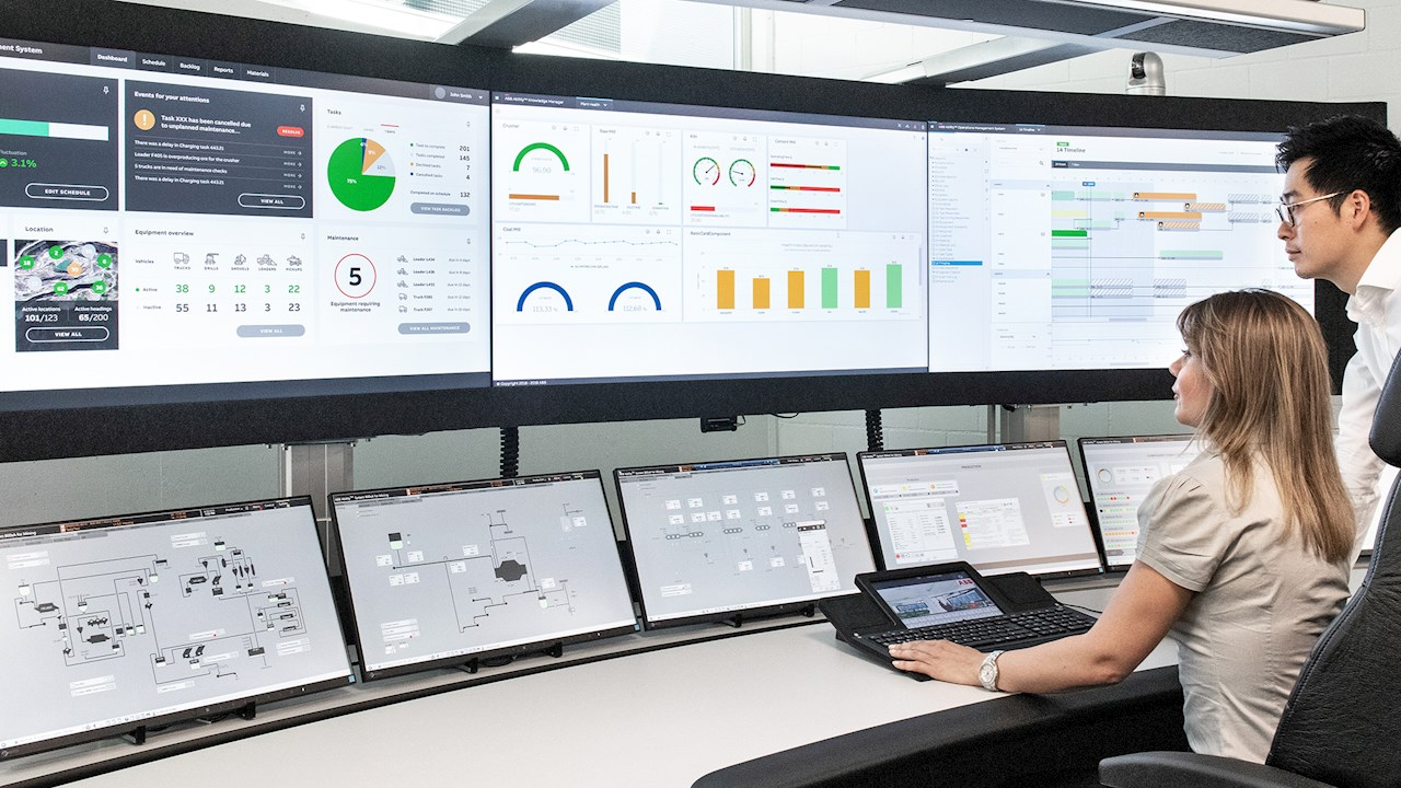 ABB launches breakthrough digital application for real-time integration in open-pit and underground mines