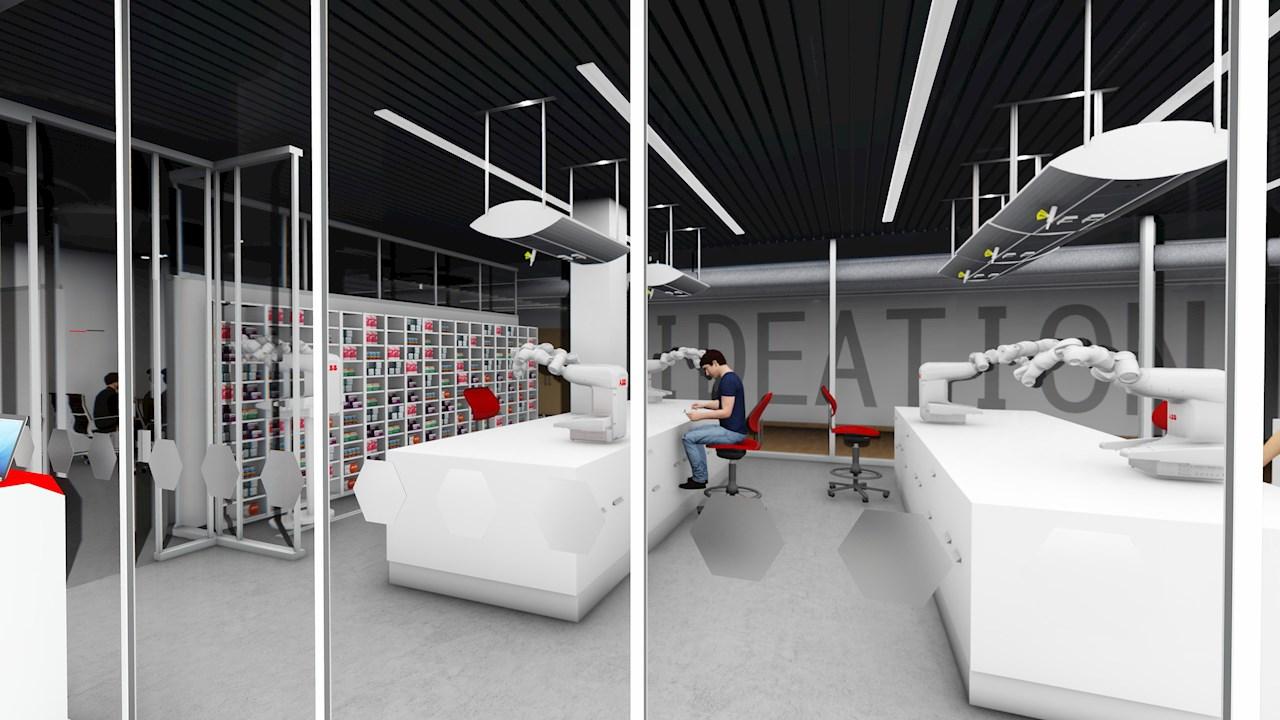Az ABB Robotika a jövő kórházához fejleszt megoldásokat