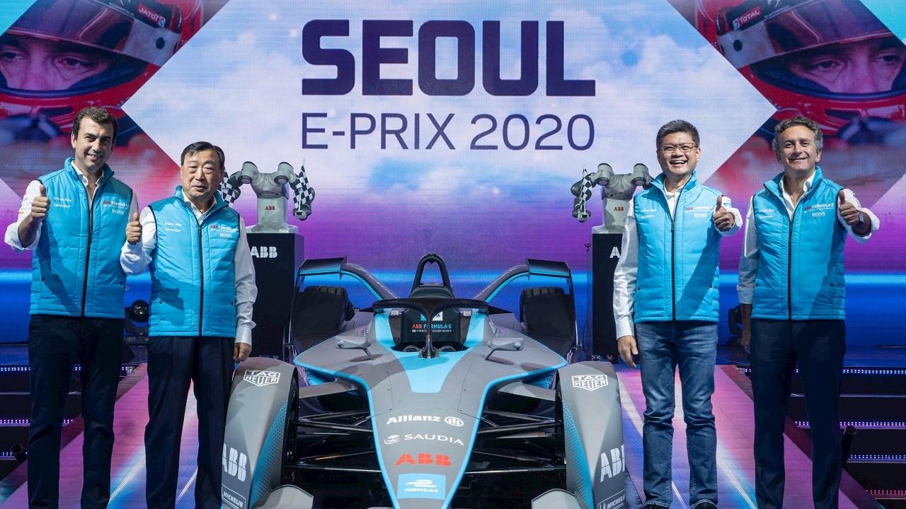 Seoul E-Prix: 2020 kommt die ABB FIA Formel E nach Südkorea