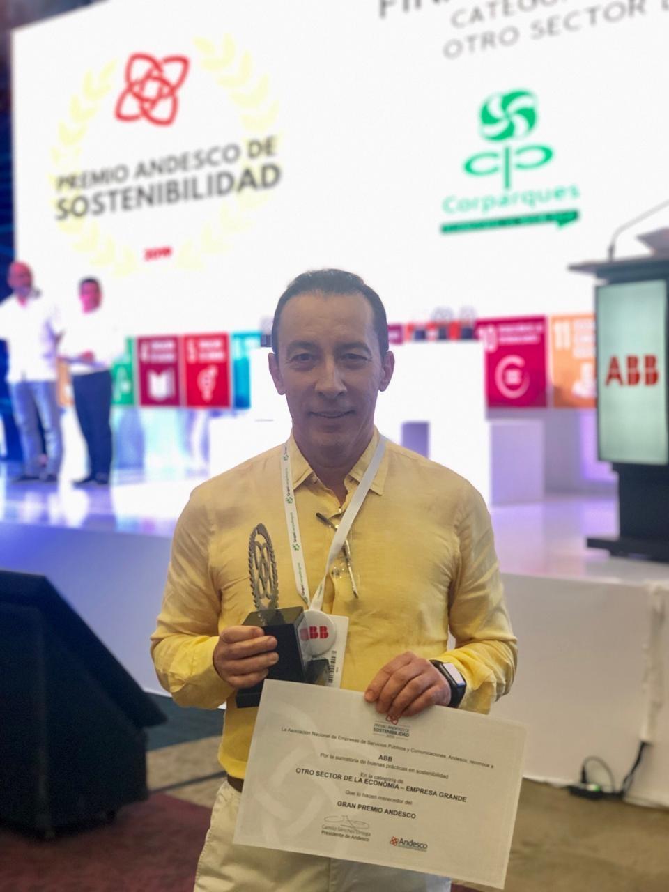 Ramón Monrás, Presidente de ABB Latinoamérica