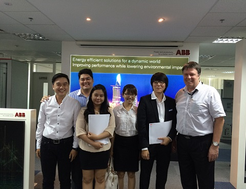 3 best groups from Ho Chi Minh campus