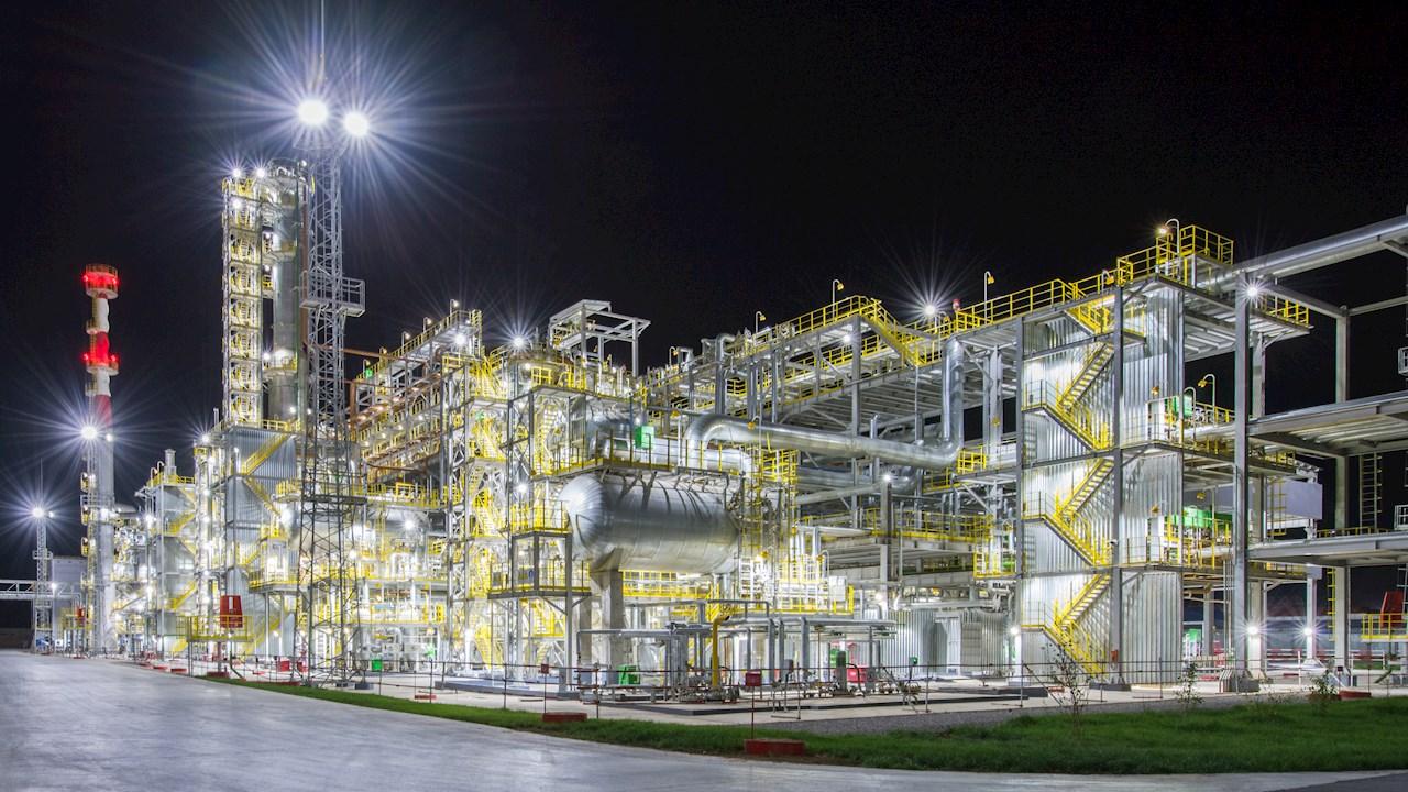 Shymkent Oil Refinery. Photo credit: PetroKazakhstan Oil Products (PKOP)