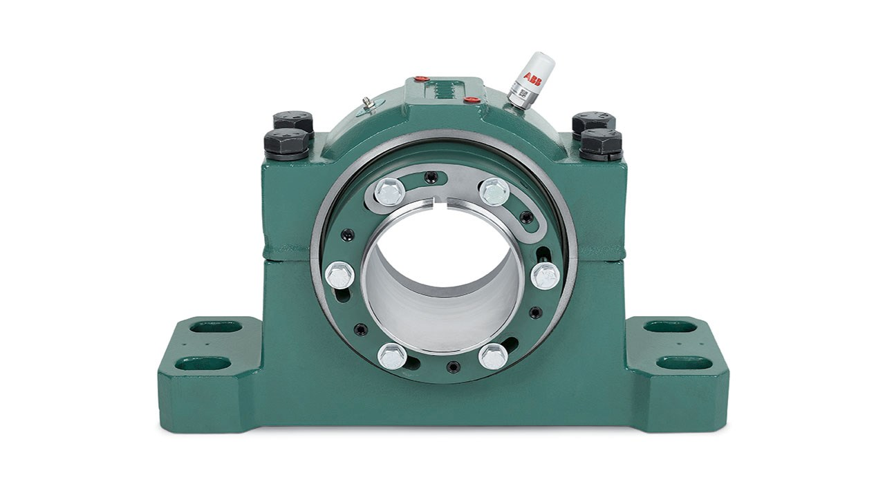 ABB's new Dodge® Safety Mount spherical roller bearings cut installation time by up to 75 percent