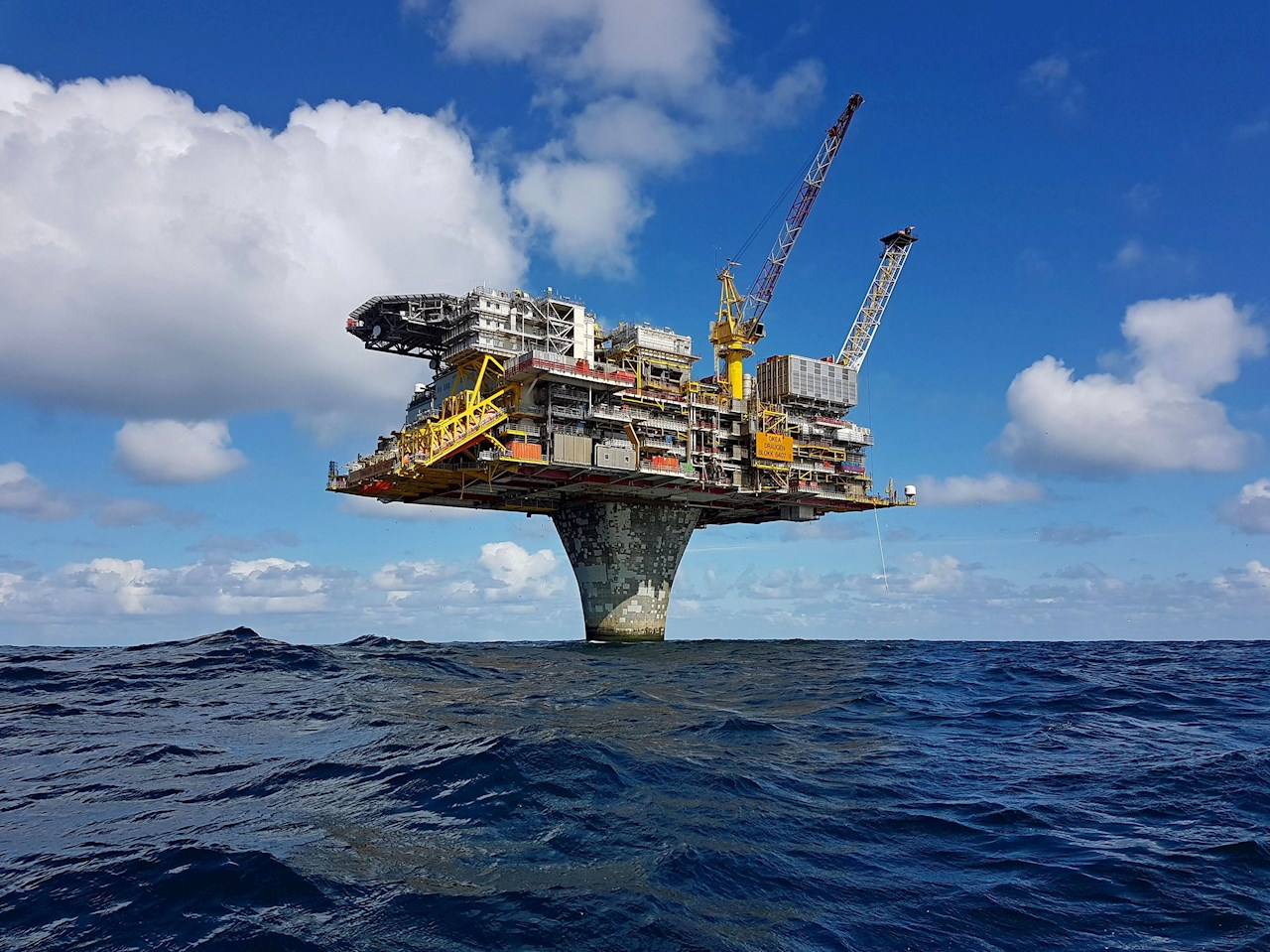 ABB and OKEA will accelerate value creation through innovative and agile business models aimed at achieving substantial productivity gains for OKEA. Photo credit: Draugen oil platform © OKEA
