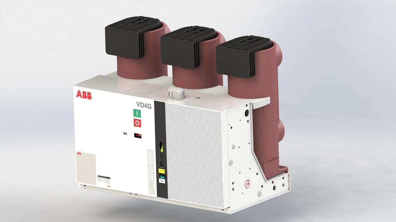 ABB releases new vacuum VD4G-63  circuit breaker for generator applications
