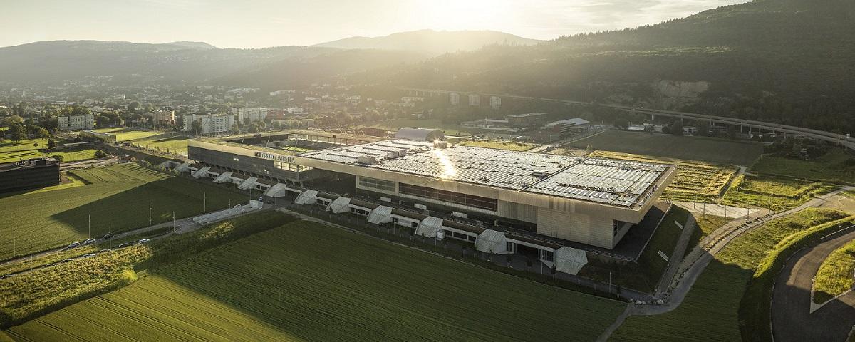 Tissot Arena in Biel, Schweiz