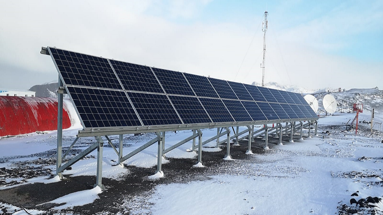 ABB solar solutions power crucial climate change research in Antarctica