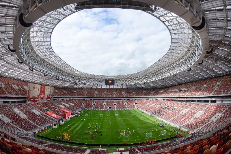 Štadión Lužniki v Moskve, Rusko (image by Mos.ru)