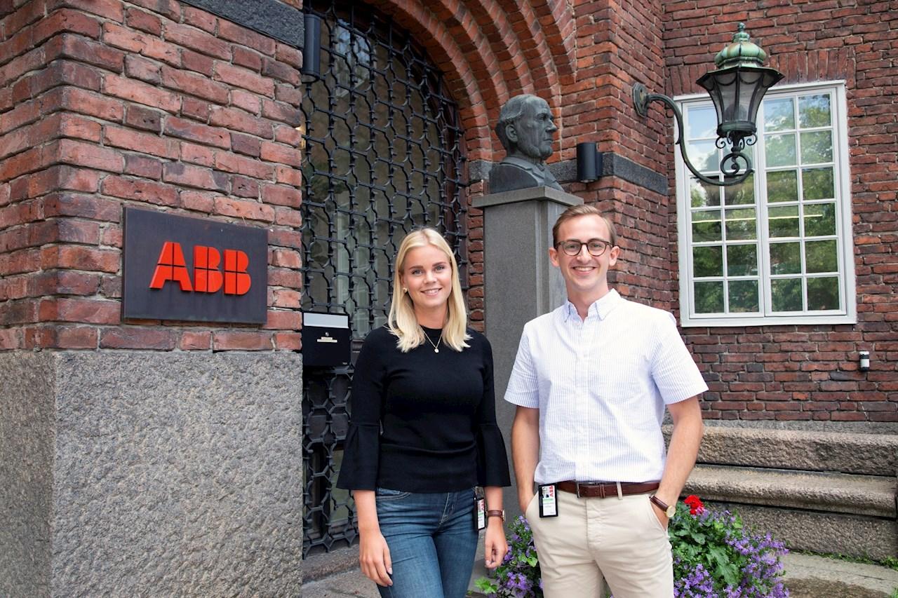 En framtid inom HR. Både Madeleine och Johannes utbildar sig för tillfället till beteendevetare.