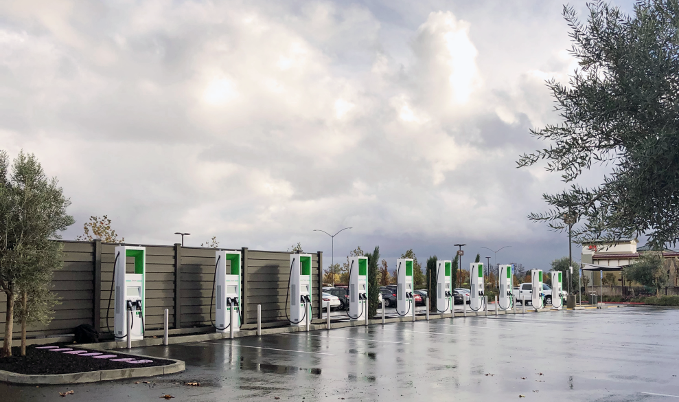 ABB chargers for Electrify America