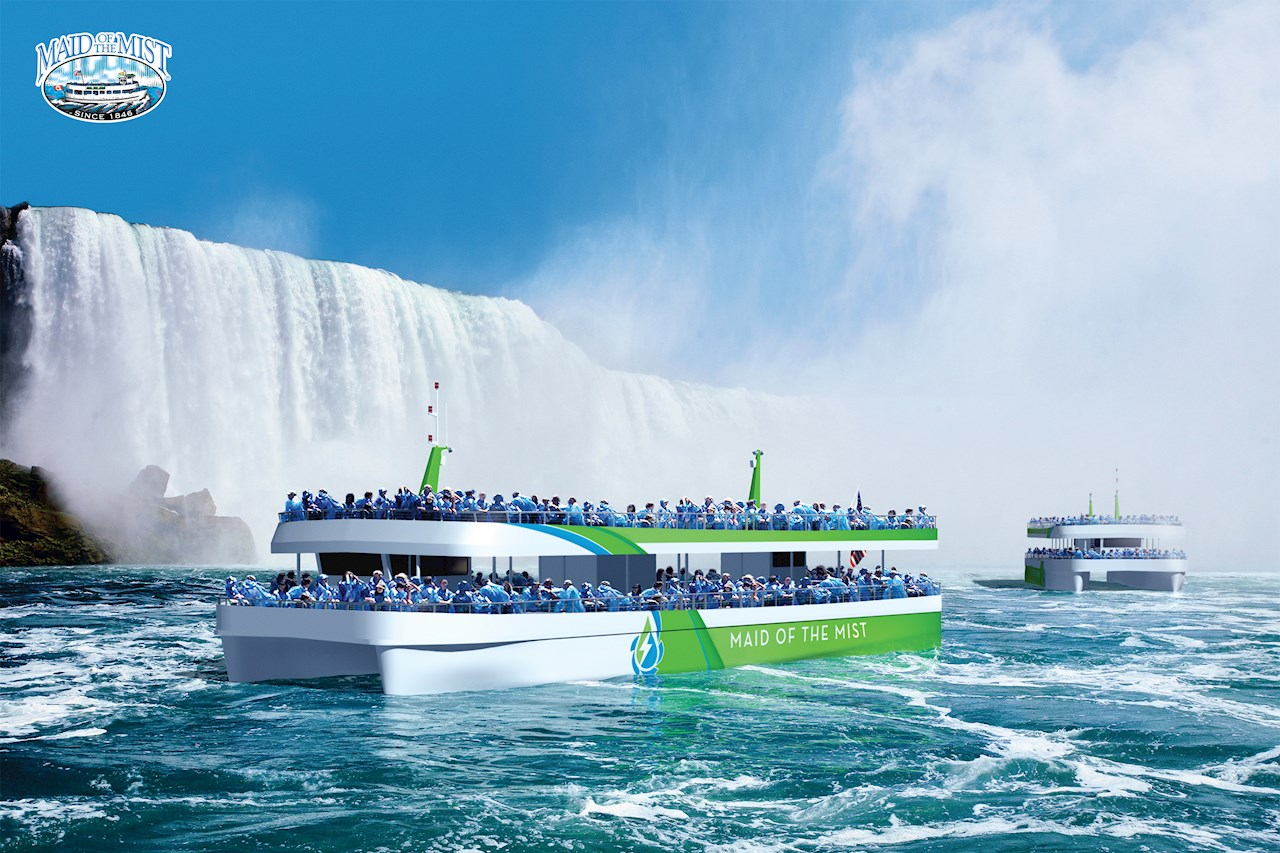 Two new Maid of the Mist passenger vessels