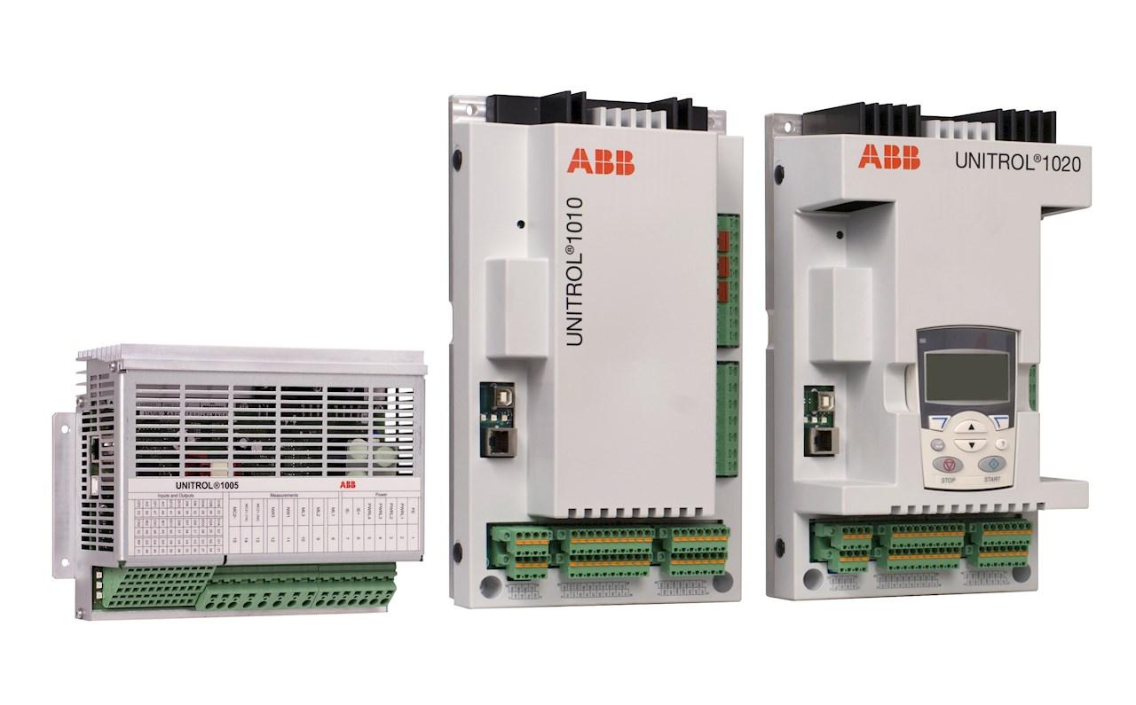 ABB's innovative UNITROL® 1000 series excitation product