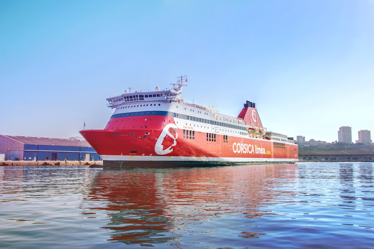 Jean Nicoli will be one of the three Corsica Linea ferries to benefit from ABB's shore connection technology