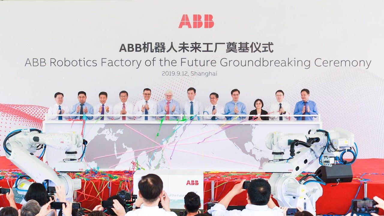 ABB begins construction of new robotics factory in Shanghai