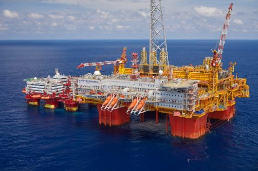 Ichthys LNG Project's central processing facility - Ichthys Explorer - image courtesy of INPEX