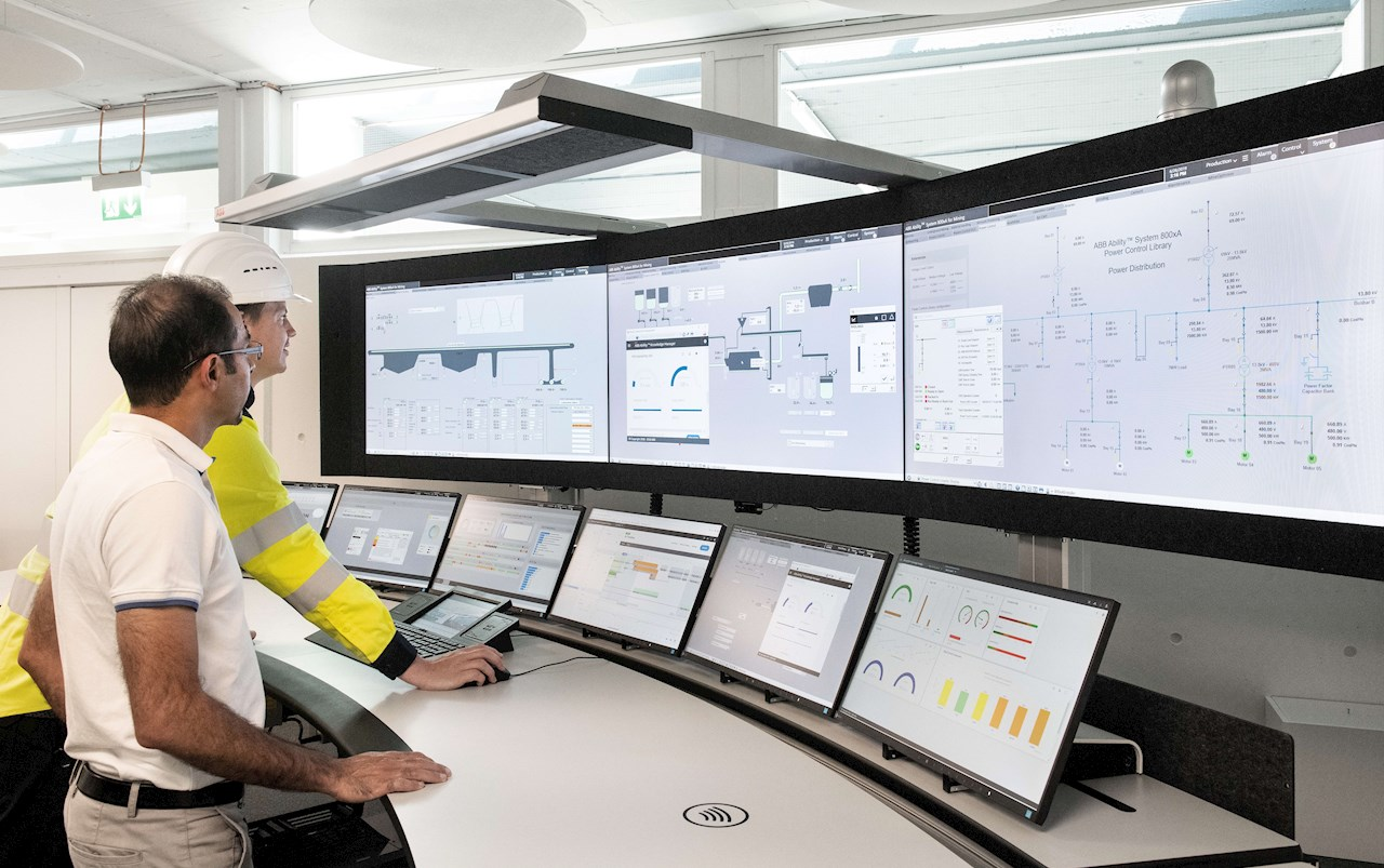 ABB recently launched a new version of its automation software Minerals Process Control Library with a new visual control graphic interface