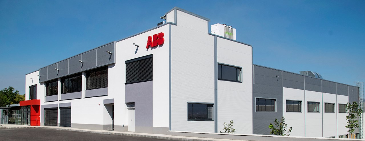 ABB's new production unit in Petrich