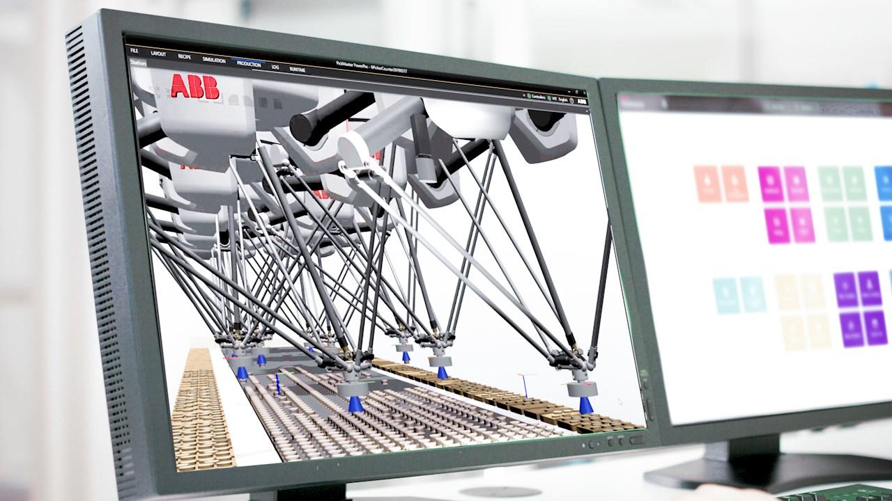 ABB、デジタルツイン技術を活用したPickMaster® Twinを発表