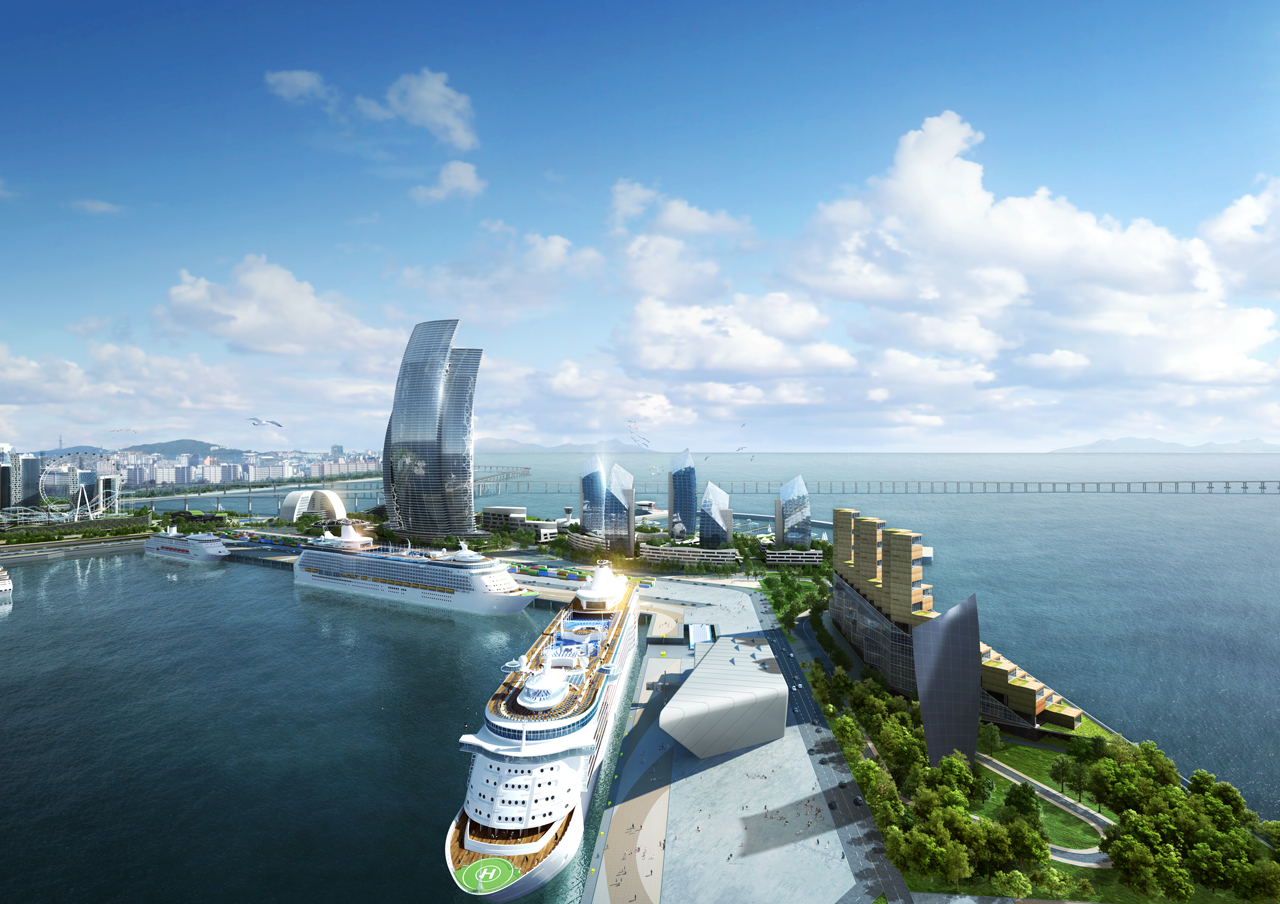 Port of Incheon. Image credit Incheon Port Authority.
