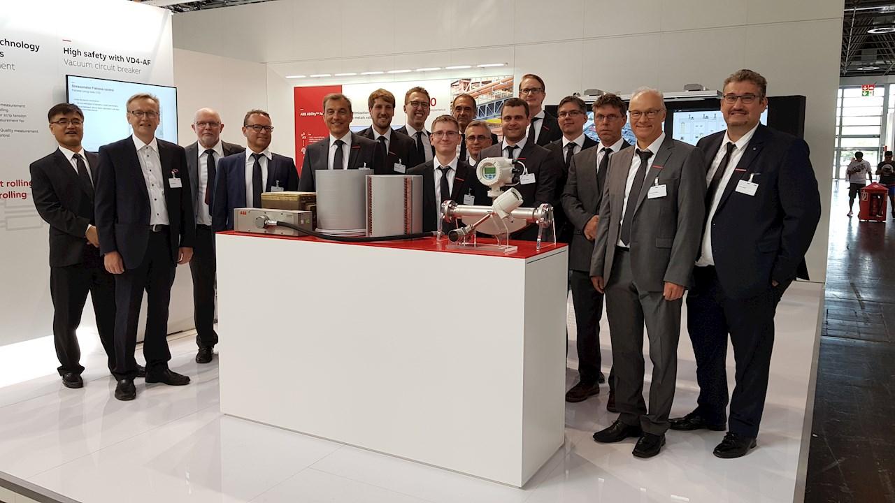 ABB's team of metals industry experts at METEC 2019