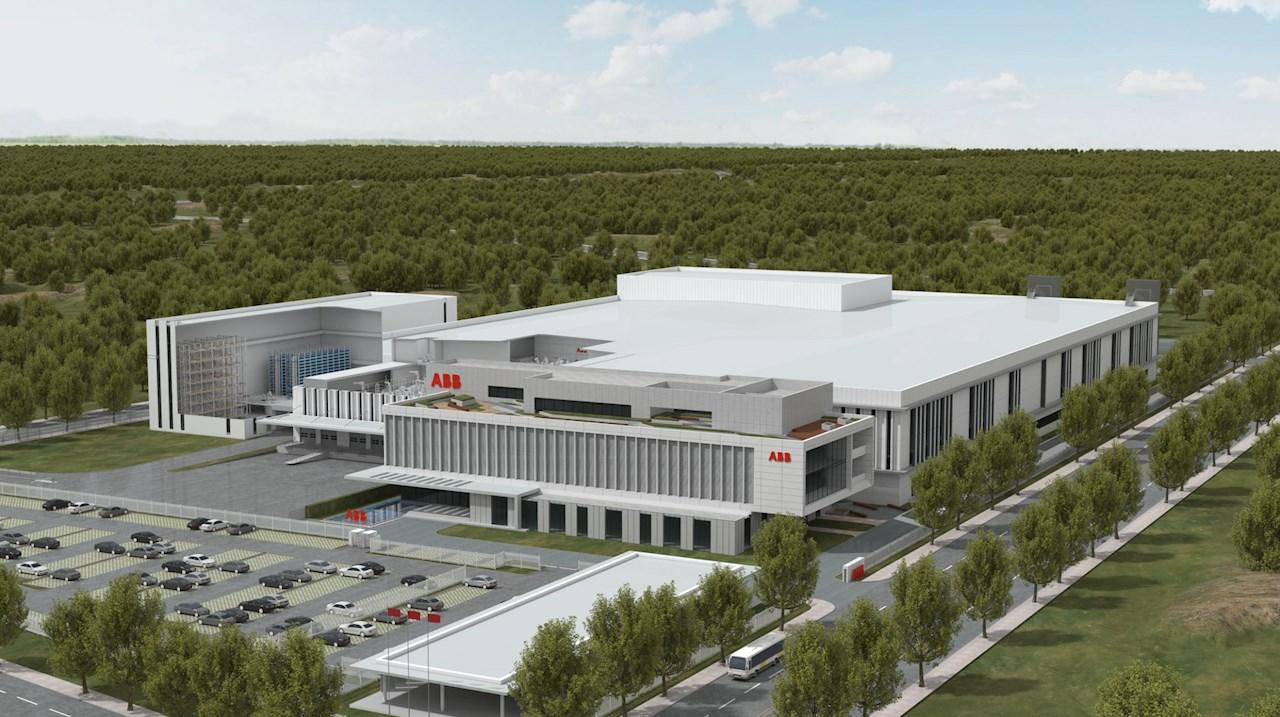 Az ABB a világ legkorszerűbb robotikai gyárát építi Sanghajban.
