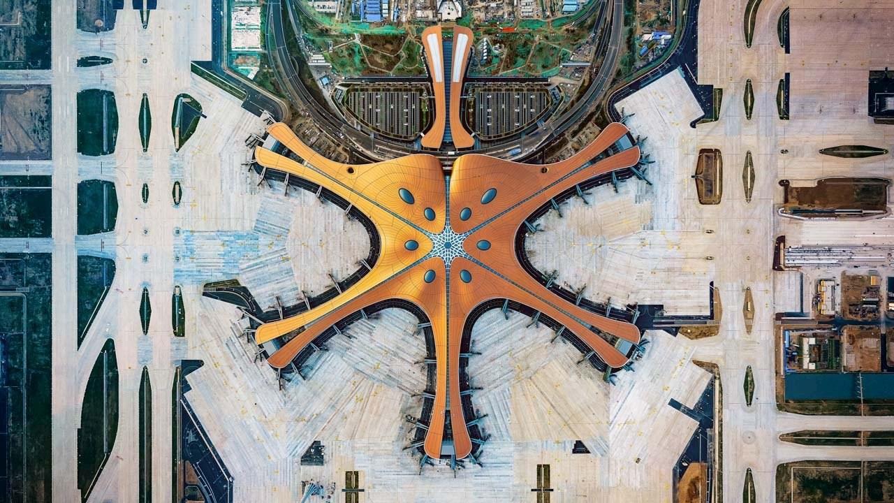Pekings neuer Mega-Flughafen Daxing: ABB-Technologien unterstützen beim Bau