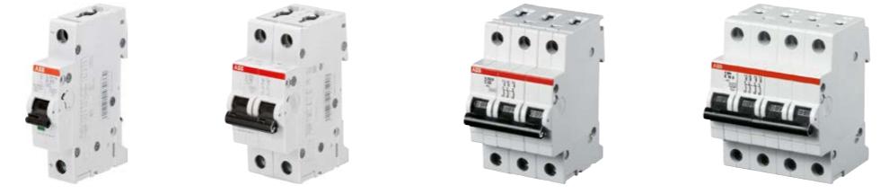 Automatsikringer fra 0,5-125A i mange karakteristikker