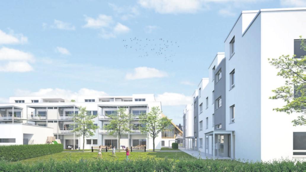 Bostadskonceptet bonacasa Smart Living i Schweiz.