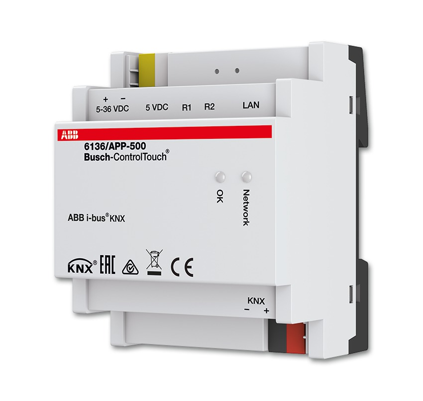 ABB:s Busch-ControlTouch® KNX-applösning.