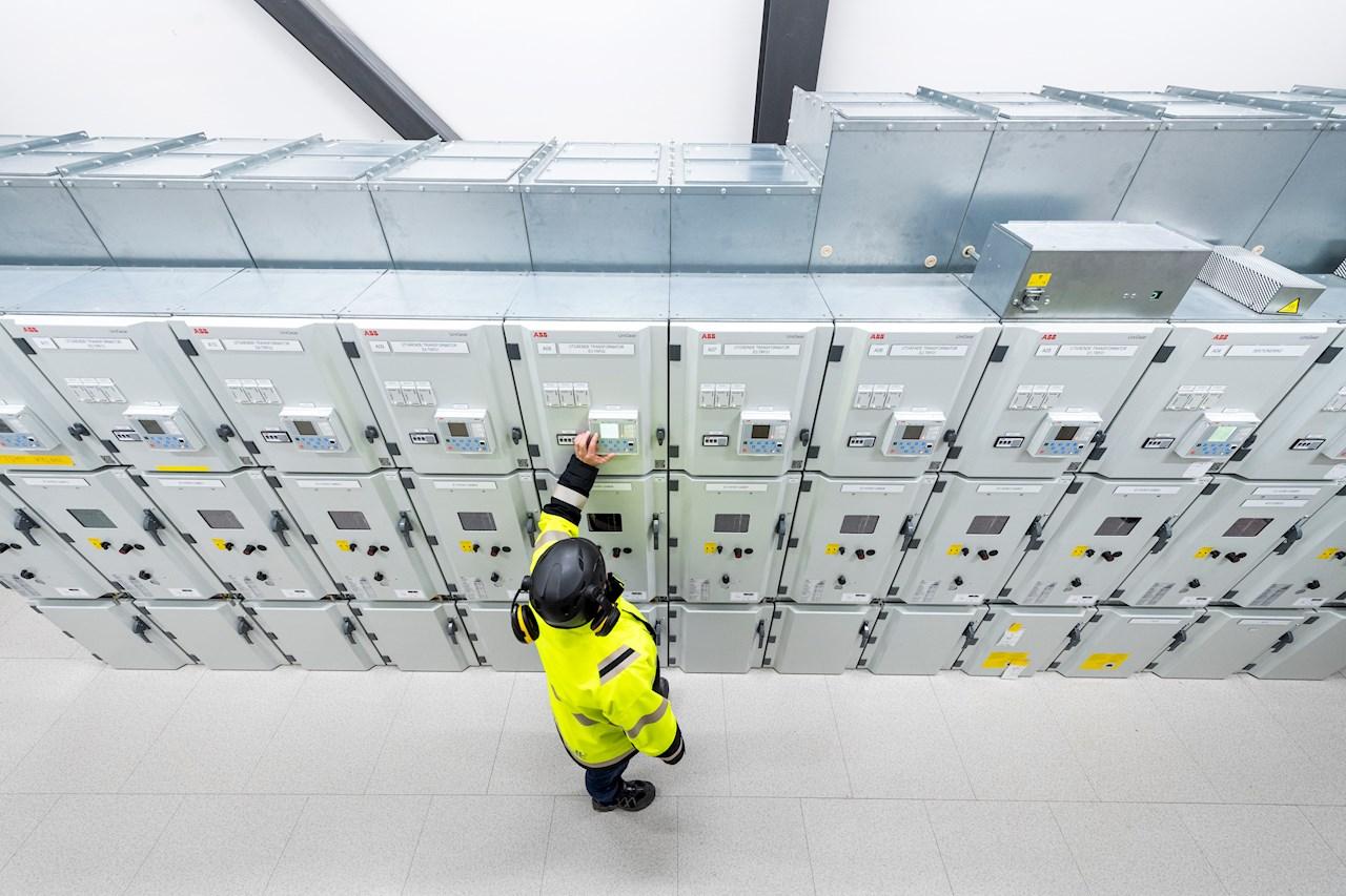ABB vil levere infrastruktur for strømforsyning fra det lokale nettet direkte til produksjonsanleggene.