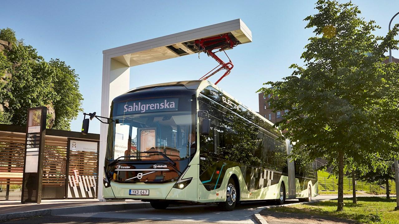 ABB und Volvo elektrifizieren Busverkehr in Göteborg