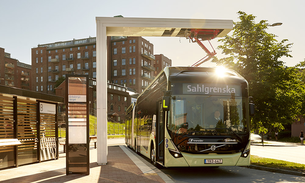 ABB skal lade 157 nye elbusser i Gøteborg.