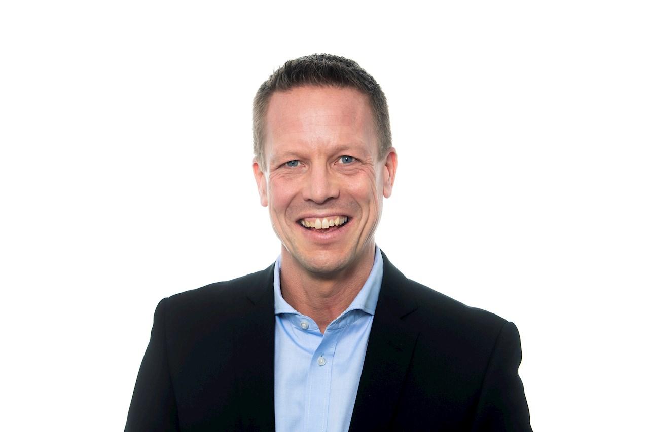 Mats Peterson, affärsområdeschef för ABB Electrification i Sverige. Foto: Jonas Bilberg