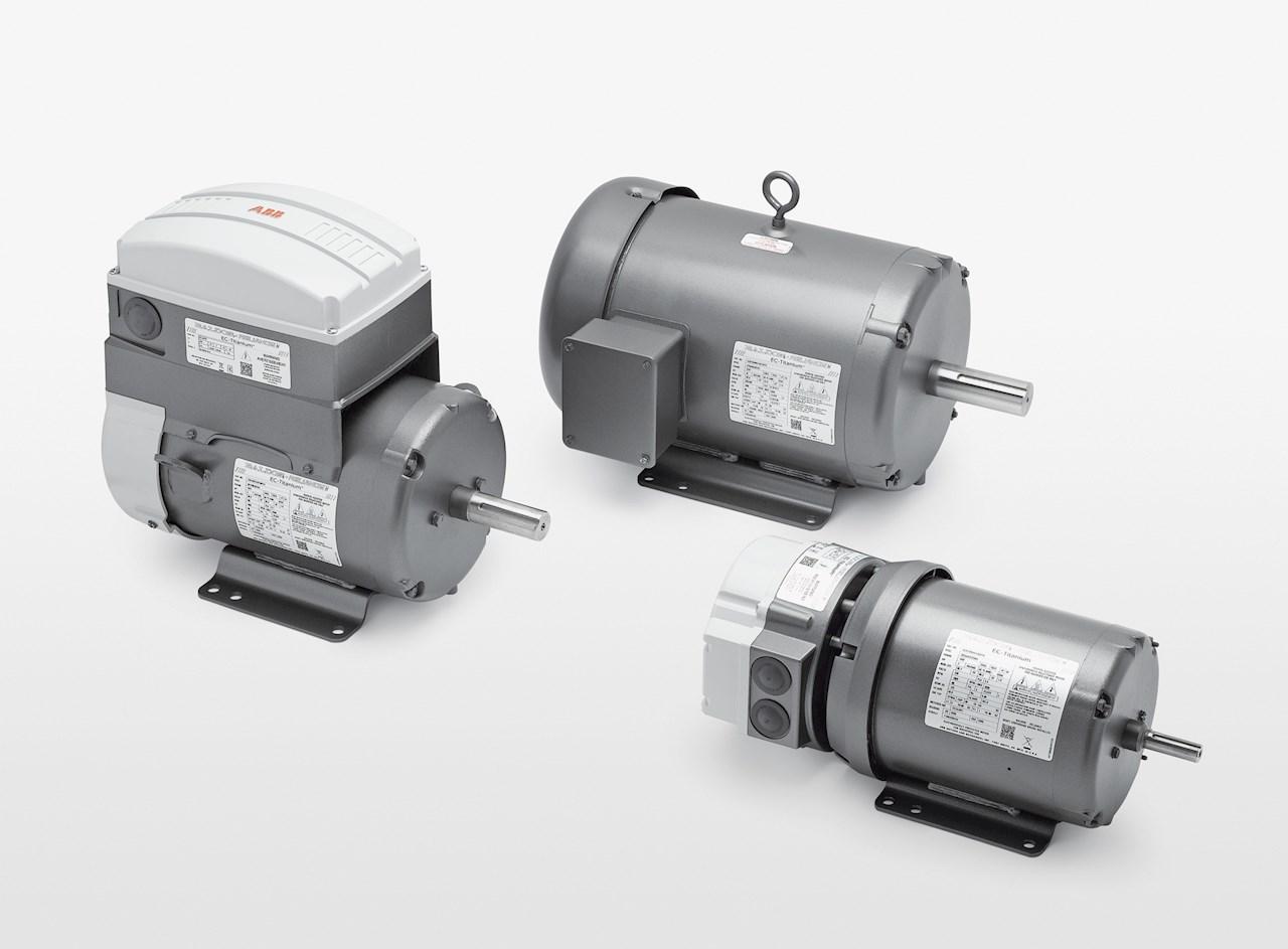 Baldor-Reliance EC Titanium™产品线以集成电动机驱动器包装或独立电动机形式提供。