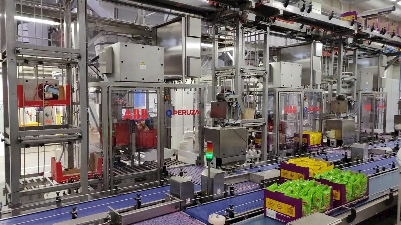 ABB automatizavo traškučių pakavimą Latvijos įmonėje