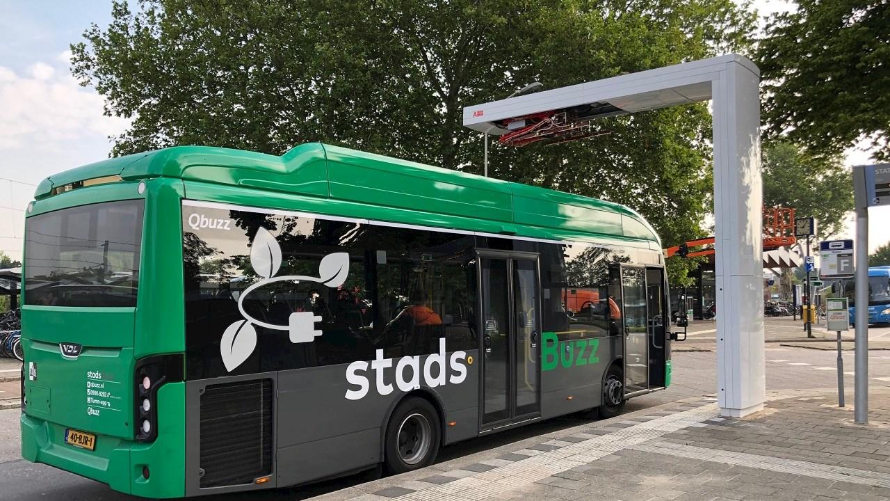 Qbuzz en ABB geven boost aan emissievrij openbaar vervoer