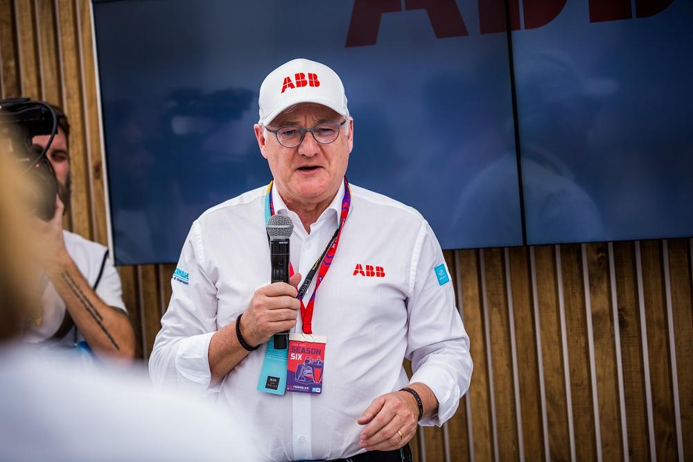 Peter Voser, CEO del Grupo ABB